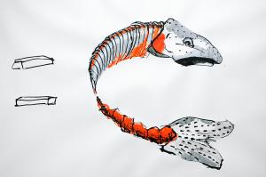 Drawing by ilka Leukefeld